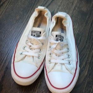 Converse all star white slip on shoreline 8 shoes